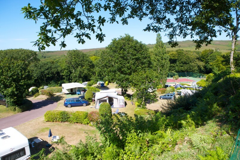 Emplacements camping nature Normandie