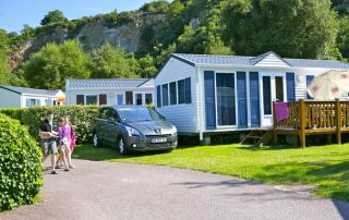 Stay in France with our mobil home in Le Cotentin