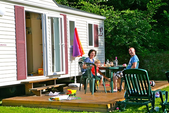 Mobile home 6 people in la Manche in France