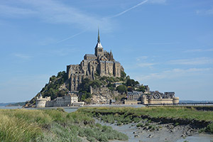 Mont-Saint-Michel in Normandy