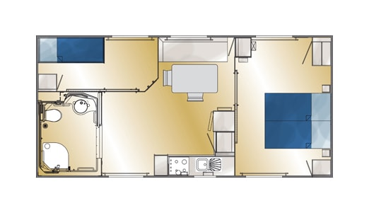 Plan du Cottage PMR
