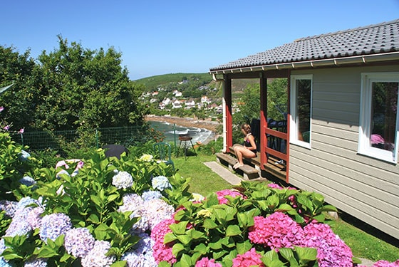 Chalet rental near Cherbourg in France