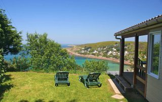 sea view chalet renal in France in La Manche