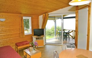 Indoor layout if the see view chalet