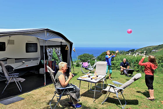 emplacement camping luxe normandie