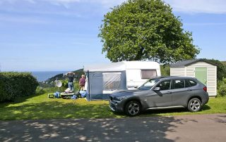emplacement camping luxe vue mer normandie