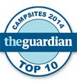 The Guardian Top 10 des campings de bord de mer en France
