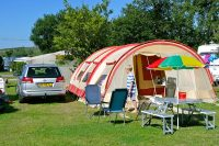 emplacement tente camping cotentin