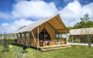 Glamping in Normandy