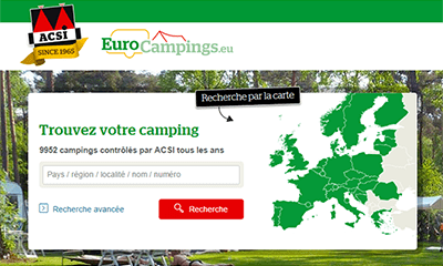 eurocampings site acsi