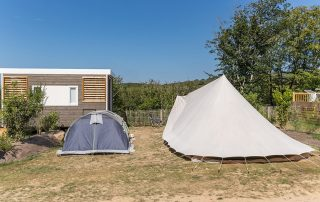 emplacement camping de luxe